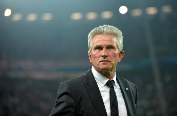 Jupp Heynckes, head coach of Bayern Munich, looks on prior to the UEFA Champions League quarter final second leg soccer match between Juventus Turin and FC Bayern Munich at Juventus Stadium in Turin, Italy, 10 April 2013. Photo: Andreas Gebert/dpa +++(c) dpa - Bildfunk+++