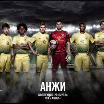 Anzhi Makhachkala 13-14 Home Kit