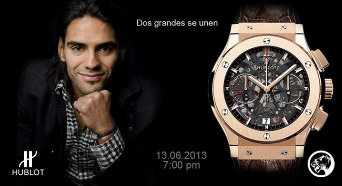 Puma-Hublot-Falcao-Limited-Edition-Gold-Watch