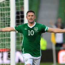 Robbie Keane dream, Ireland National Team, Number 10
