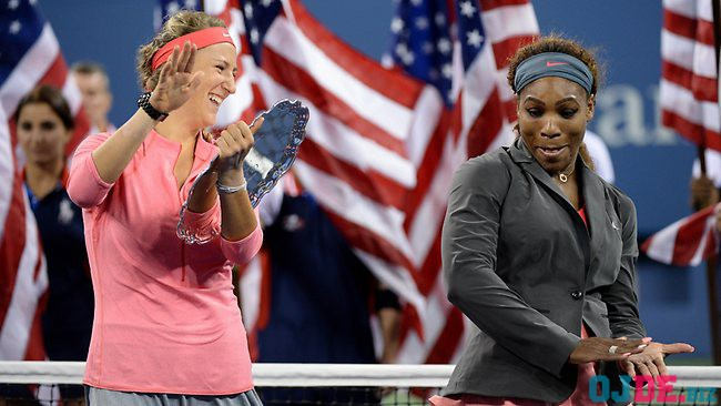 Victoria Azarenka and Serena Williams US Open 2013