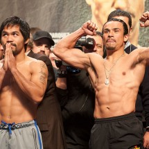 Pacquiao-Marquez IV weigh in.