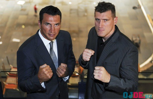 Germany Boxing Klitschko Wach